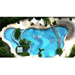高档住宅别墅酒店游乐场游泳池马赛克,蓝色渐变水晶马赛克图片