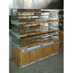 鲁泰货架让您更自信(图)、面包柜台展柜、面包柜图片