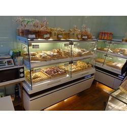 糕点柜厂家-鲁泰货架让您更自信-新乡糕点柜图片