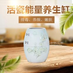 spa活瓷能量缸 艾灸缸巴马磁蒸缸 陶瓷能量养生樽图片