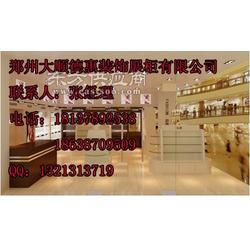 茶叶展柜制作公司图片