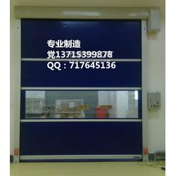 高明区自动高速门厂 PVC高速软帘门图片