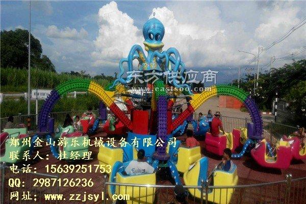 30座旋转大章鱼儿童游乐设备 大章鱼厂家直销图片