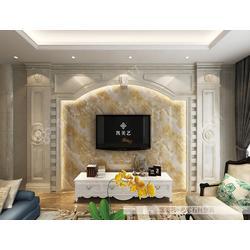 玉石背景墙、玉石背景墙公司、客厅玉石背景墙图片