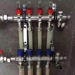 分集水器 德國哈文自帶流量計分水器 304不銹鋼分集水器圖片