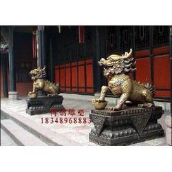 河北铜麒麟雕塑厂_铜麒麟厂_河北博创雕塑有限公司(多图)图片