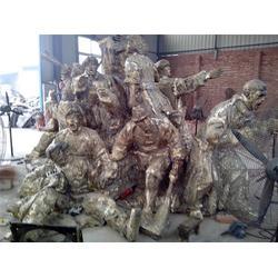 博创雕塑-铜像-铸造铜像厂家图片