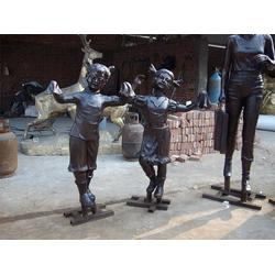 人物像、博创雕塑(在线咨询)、铸铜人物像厂家图片