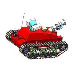 灭火机器人_国泰科技_排烟灭火机器人图片