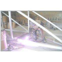 钢结构喷锌报价、太仓钢结构喷锌、华特金属防腐技术服务图片