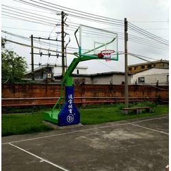 专业生产篮球架厂家,临海篮球架厂家,通宝体育用品生产图片