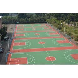 北京彩色丙烯酸篮球场,通宝体育,承接彩色丙烯酸篮球场图片