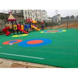 浙江硅pu塑胶球场|通宝体育用品质量保证|硅pu塑胶球场订制图片