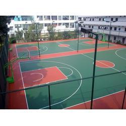 丙烯酸篮球场地,鹤山篮球场地,通宝体育图片