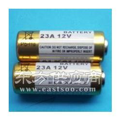 防盗器专用23A 12V电动车遥控器电池图片