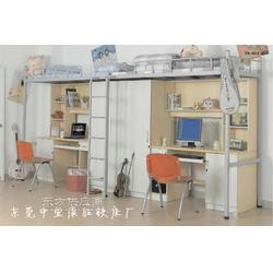KS直批学生连体公寓床及尺寸 优质学生连体公寓床图片