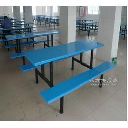 厂家供应连体餐桌椅/食堂餐桌椅/学校食堂餐桌椅图片
