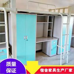 供應大學生宿舍公寓床 學生宿舍組合床供應商 學生公寓組合床商圖片