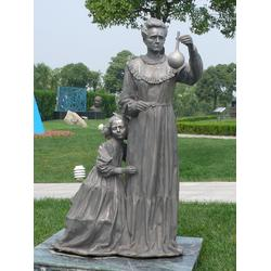 居里夫人雕塑定做,云南居里夫人雕塑,居里夫人雕塑厂家图片