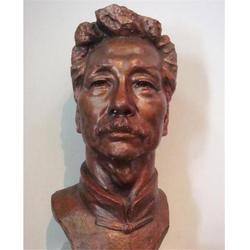 朔州鲁迅铜像,世隆雕塑,鲁迅铜像厂家图片
