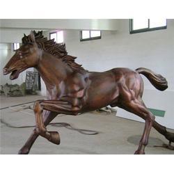 聊城铜马雕塑、世隆雕塑、铜马雕塑定做图片