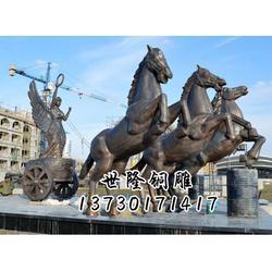 铜马雕塑定做,朔州铜马雕塑,世隆工艺品图片