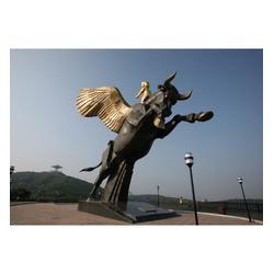 定做铜牛雕塑、乌海铜牛雕塑、世隆铜雕图片