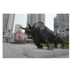 铜牛雕塑制作厂家_铜牛雕塑_世隆铜雕塑图片