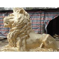 铸铜狮子_乌海铜狮子_世隆铜雕图片