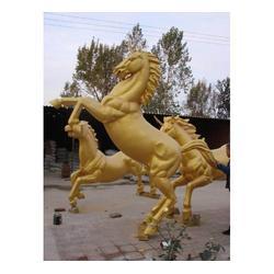 铜雕马制作、周口铜雕马、世隆雕塑图片