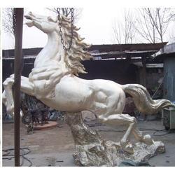 世隆雕塑_纯铜马雕塑_陕西铜马雕塑图片