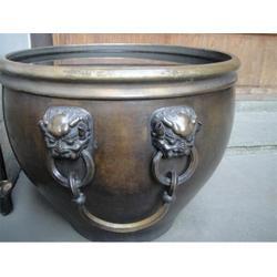 福建铜大缸_世隆雕塑_大型铜大缸图片