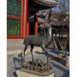 世隆雕塑、莱芜梅花鹿铜像、梅花鹿铜像厂家图片
