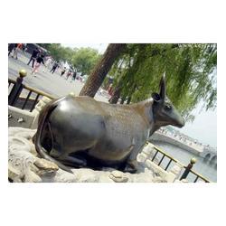 老黄牛铜雕塑|世隆雕塑(在线咨询)|山东老黄牛铜雕塑图片