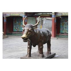 开荒铜牛-世隆雕塑公司-定做开荒铜牛图片