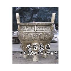 四川铜熏香炉厂家-世隆雕塑图片