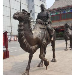 駱駝雕塑定制-世隆雕塑圖片
