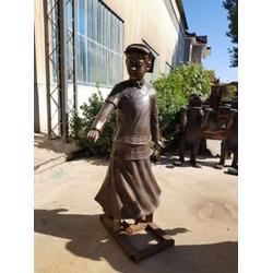 世隆雕塑 古代人物铜雕塑厂家 江西古代人物铜雕塑图片