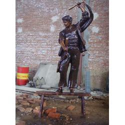 古代人物铜雕塑铸造厂|世隆雕塑|广东古代人物铜雕塑图片