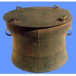 扬州寺庙铜鼓雕塑-寺庙铜鼓雕塑哪家好-世隆雕塑图片