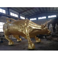 银川华尔街铜牛雕塑铸造厂 世隆雕塑