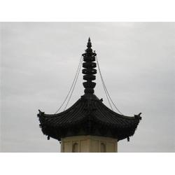 海南寺庙塔刹铜雕塑厂家-世隆工艺品图片