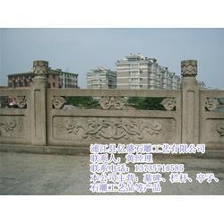 舟山石雕栏杆-亿盛石雕品质赢口碑-景区石雕栏杆图片