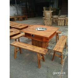 盛豪家具有限公司(多图)、串串香火锅桌订做图片