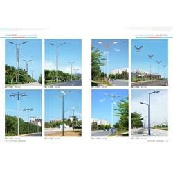 襄阳路灯厂家、鱼梁洲太阳能路灯、太阳能路灯板图片