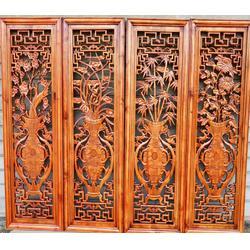 木雕屏风、古居阁品质赢口碑、东阳工艺木雕屏风图片