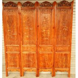 中式木雕屏风|古居阁(在线咨询)|木雕屏风图片