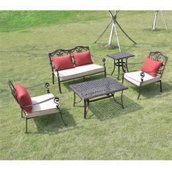 阳台铸铝桌椅厂家 如典(在线咨询) 莲湖铸铝桌椅厂家图片