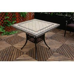 小区花园铸铝桌椅厂家,如典,深圳花园铸铝桌椅图片