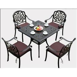 如典_舟山铸铝桌椅_旅游景区铸铝桌椅一套多少钱图片